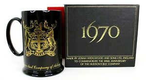 RARE Hudson's Bay Company 300TH Anniversary Mug/Stein By Wedgewood Original Box