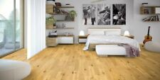 125mm Pearl Satin Lacquered Real Solid European Oak Wood Flooring, 18mm Thick