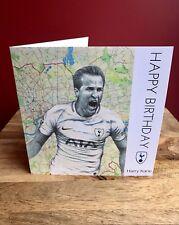 Harry Kane Greeting/Birthday Card.Spurs/ Tottenham Hotspur FC/ England.