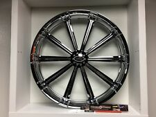 "09 up Harley Davidson 19"" front Wheel Custom Chrome Wheel Style 120c"