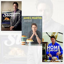 James Martin 3 Books Collection Set (Sweet,Slow Cooking,Home Comforts) New Pack