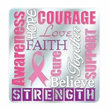 Breast Cancer Awareness Pin - Awareness - Faith - Courage - Cure - Support