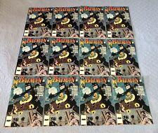 Batman #458 (VF/NM, Jan.1991) comic book multiple copies x12