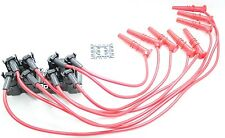 Red 8.5mm Performance Spark Plug Wires Coil Packs Ford Lincoln Mercury 4.6L V8