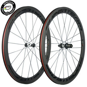 50mm Carbon Road Bike Wheel Straight Pull DT swiss Hub Clincher 700C Wheelset