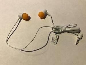 Original Sony MH755 Ohrhörer *Orange*