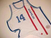 1964-65 Cincinnati Royals Oscar Robertson #14 White Red NBA HOF Big O Jersey 60