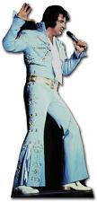 SC-240 Elvis Presley in blue jump Suit Höhe 182cm Aufsteller Pappaufsteller