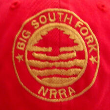 BIG SOUTH FORK seal NRRA baseball hat embroidery Knoxville National Park cap