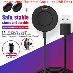 USB Charger Charging Cable Core for Garmin Fenix 5 6 5s 6s Pro Venu Vivoactive 3
