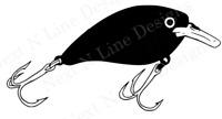 Fishing, Lure, Crankbait, Fishing Lure, Reel, Fishing Decal, Window Sticker, Car
