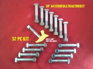 Wheel Bolt Set A4389R For J D - 620 730 2510 2520 3010 3020 4010 4020 4230 4320