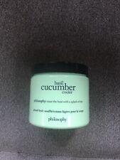 Philosophy Basil Cucumber Glazed Body Souffle 16 oz New/Sealed