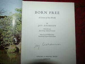 Born Free *SIGNED* JOY ADAMSON