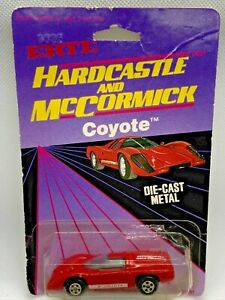 1983 ERTL Hardcastle And McCormick Coyote 1:64 Diecast Collectible