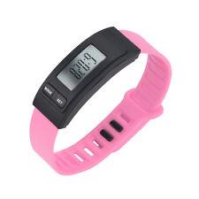 Mens WomensRun Step Watch Pedometer Calorie Counter Digital LCD Walking Distance
