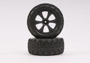 BS214-009 - BSD Racing Black Wheel And Tyre (Pair) - Century UK, Brand New