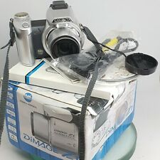 Konica Minolta DiMage Z1 10x 3.2m Bag, Strap, Box and Leads Working  - Great Con