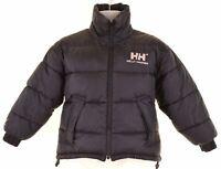 HELLY HANSEN Boys Reversible Padded Jacket 9-10 Years Black  K105