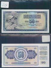 YUGOSLAVIA 50 DINARA 1968 UNC (rif. 228)