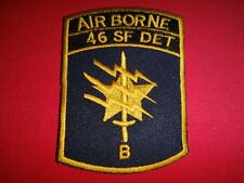 """Vietnam War Patch US 1st SFG 46th Special Forces Co. Detachment """"B"""" In Thailand"""
