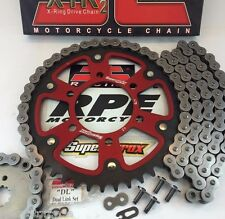 Ninja ZX6R 2005-06 ZX-6R Red Supersprox JT Chain and Sprockets Kit   Quick Accel