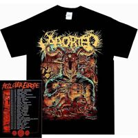 Aborted Hell Tour Shirt S M L XL Grind Death Metal Offcial T-Shirt Tshirt New