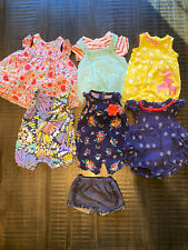 Newborn Baby Girl lot of 0-3 month summer + spring clothes