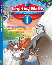 TARGETING MATHS YEAR 1 AUSTRALIAN CURRICULUM EDITION 9781742152202 Free Postage