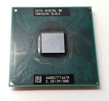 Intel Core 2 Duo Processor T6670 2.20GHz Dual Core CPU SLGLK