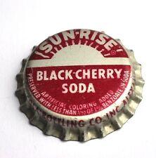 Coca-Cola sun-rise TAPPO BOTTIGLIA USA Bottiglia Caps NERO Cherry Soda -