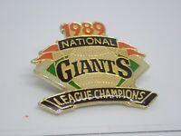 San Francisco Giants 1989 National League Champions Vintage Enamel Lapel Pin