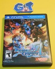 RAGNAROK ODYESSEY ACE Sony Playstation Vita Game W/ Custom Case