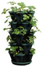 5 Tier Stackable Vertical Planter Indoor Outdoor Herb Vegetable Flower Stacking