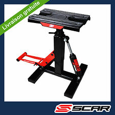 LEVE MOTO AJUSTABLE BEQUILLE STAND CROSS TRIAL ENDURO SUPERMOTO SUPERMOTARD SCAR