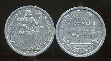 POLYNESIE francaise 1 franc 1987