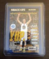 Stephen Curry 2020-21 NBA Hoops Slam Magazine Insert YUP Warriors SP #19