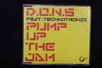 D.O.N.S* Feat. Technotronic – Pump Up The Jam- Single  - (C212)