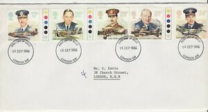 GB Stamps First Day Cover History of the Royal Air Force, RAF CDS London SW 1986