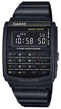 Casio CA-506B-1A New Original Data Bank Calculator Mens Watch Black CA-506 CA506