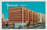 Unused Postcard The Pickwick Hotel Broadway at First Avenue San Diego California