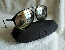 Men's Maui Jim Sunglasses & Case, Previously Owned-Aviator Style Lens....