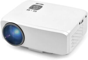 LED Mini Portable Projector Support for Home Theatre Video Games TV Movie TXT Mu