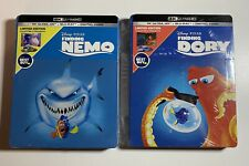 Finding Nemo & Finding Dory 4K Hd Steelbook (Blu-Ray+Digital Limited Edition)New