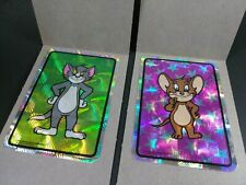 Tom and Jerry Vintage 1994 Prism Vending Stickers Lot Of 2