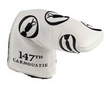 2018 BRITISH OPEN (Royal Carnoustie) - WHITE - AM&E PUTTER COVER