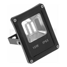 10W COB Outdoor LED Flood Light 6000K Daylight IP65 Black Waterproof
