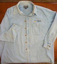 Aladdin Hotel Casino Vegas Chambray denim shirt Xl