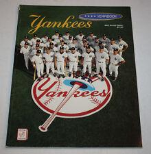 New York Yankees 1993 Yearbook Program Magazine