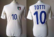 MAGLIA ITALIA 2002 #10 TOTTI SHIRT TRIKOT MAILLOT JERSEY VINTAGE KOREA AS ROMA